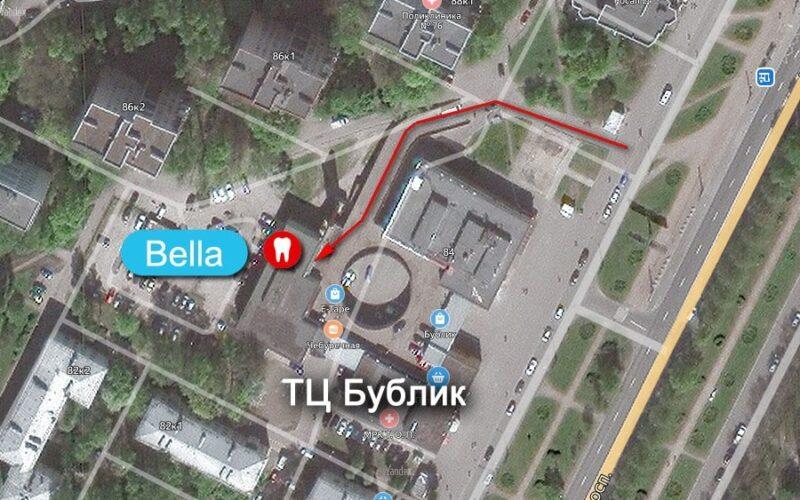 Стоматология Bella как добраться, как найти | Санкт-Петербург, Гражданский пр. 84